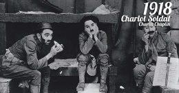 Charlot Soldat, Charlie Chaplin, 1918 : La guerre, c'est nul !