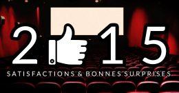 2015 – LE BILAN : Satisfactions et bonnes surprises
